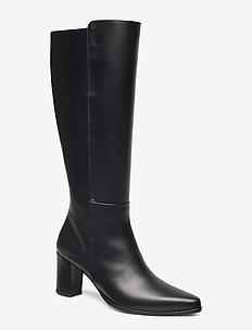 Tuva Nappa Boot - BLACK