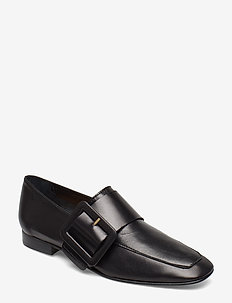 Valery Nappa Loafer - BLACK