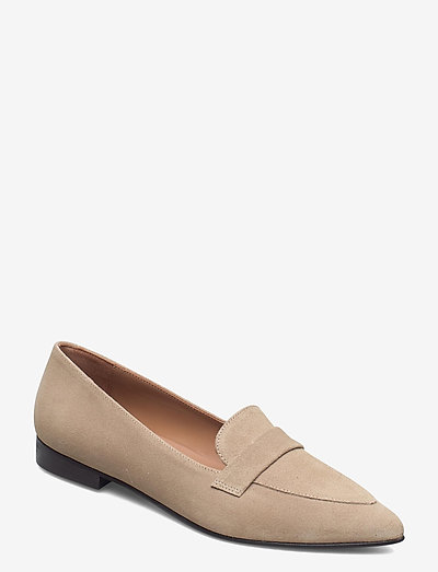 Alexandra Sand Suede - instappers - sand