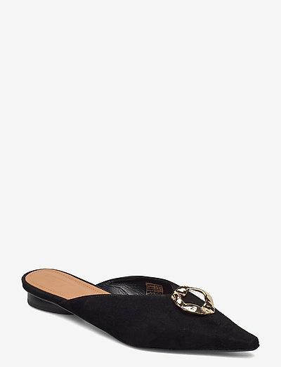 Pixie Suede - schoenen - black