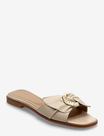 Marlo Sand Leather - platte sandalen - sand