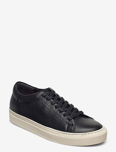 Stockholm Leather - lage sneakers - black