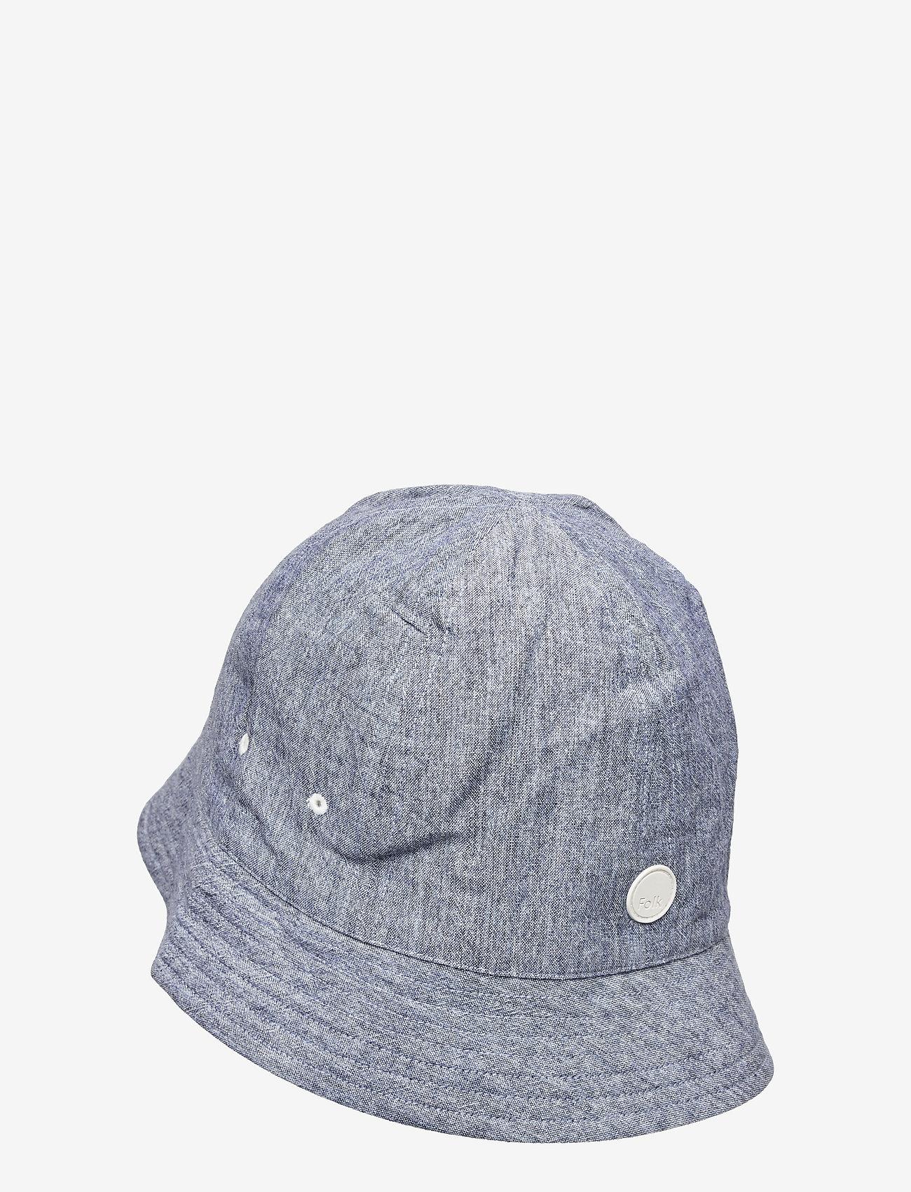 Folk - SEOUL BUCKET HAT - bonnets & casquettes - dusty blue mix - 1