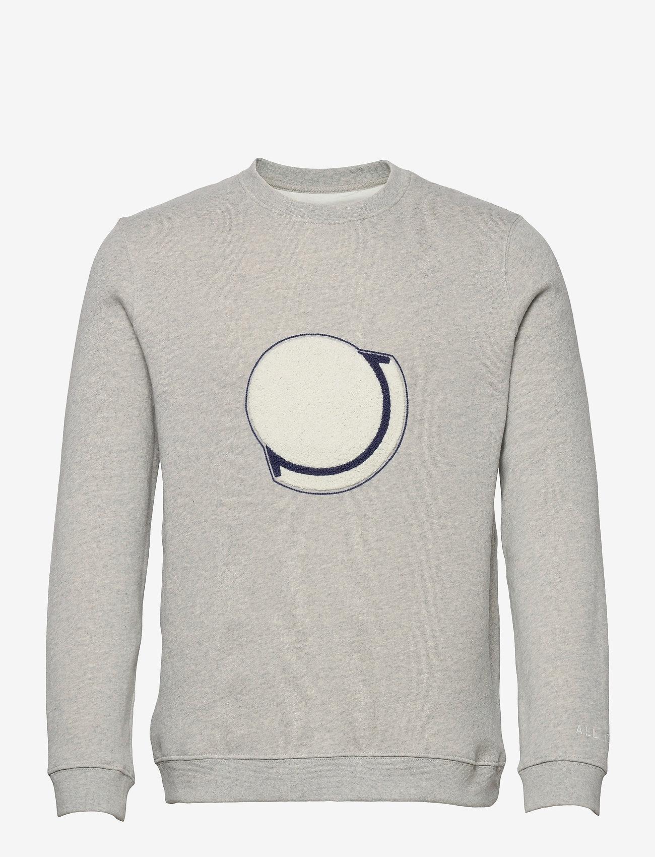 Folk - EMBROIDERED SWEAT - sweats - grey melange - 0