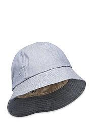 BUCKET HAT - WOAD TWILL