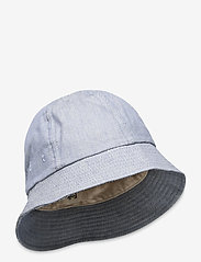 Folk - BUCKET HAT - bonnets & casquettes - woad twill - 0