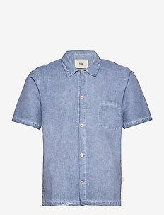 SEOUL SHIRT - oxford-skjortor - cold dye dusty blue