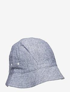 SEOUL BUCKET HAT - bonnets & casquettes - dusty blue mix