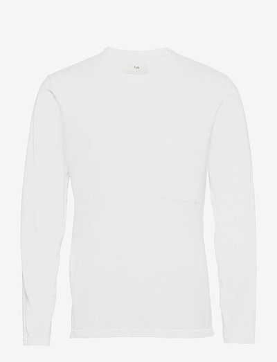 LS STACK TEE - t-shirts basiques - white
