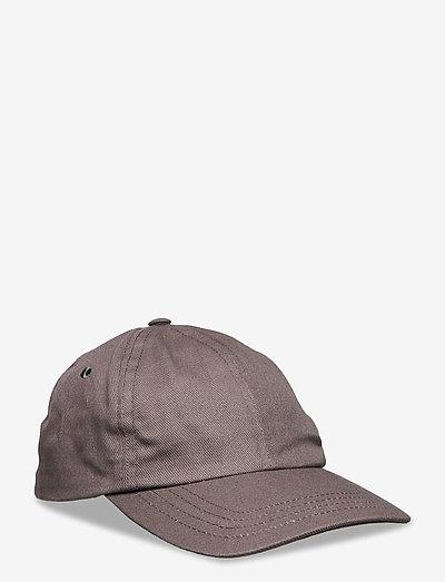 6 PANEL CAP - bonnets & casquettes - coffee twill