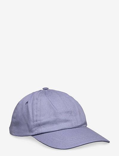 6 PANEL CAP - bonnets & casquettes - dusty blue twill