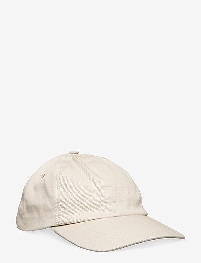 6 PANEL CAP - bonnets & casquettes - pebble twill
