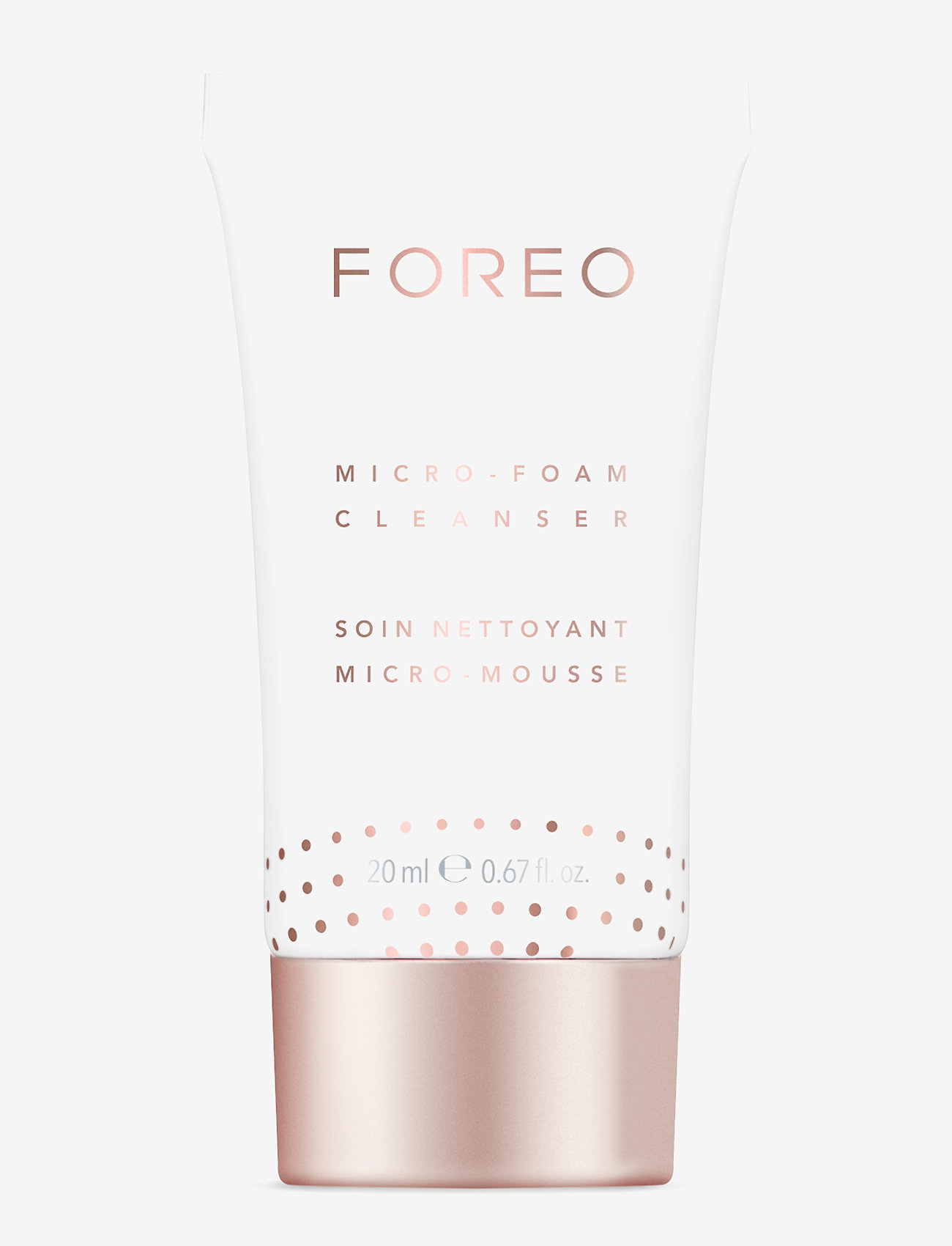 Foreo - Micro-Foam Cleanser - rengöringsgel - no colour - 0