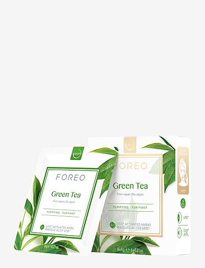 UFO Mask Green Tea x 6 - ansigtsmask - no colour