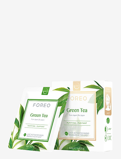 UFO Mask Green Tea x 6 - ansiktsmask - no colour