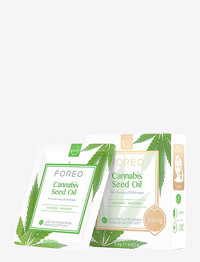 UFO Mask Cannabis Seed Oil x 6 - ansiktsmask - no colour