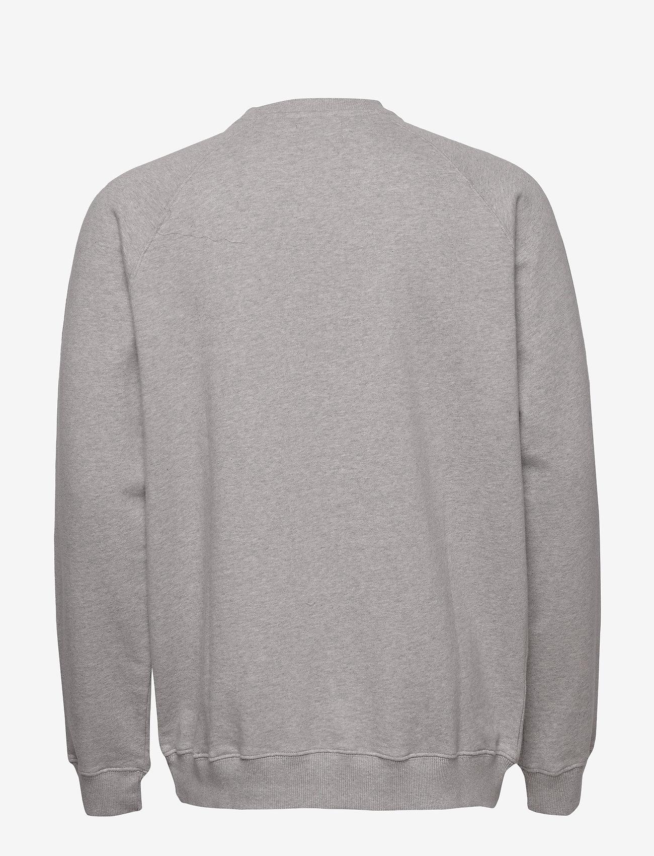 Forét SPRUCE SWEATSHIRT - Sweatshirts LIGHTGREY MELANGE - Menn Klær