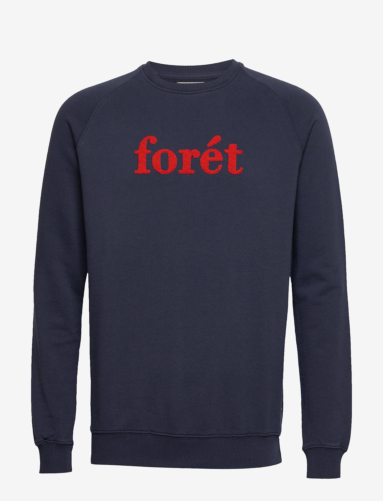 Forét - SPRUCE SWEATSHIRT - sweatshirts - midnight blue/red - 0
