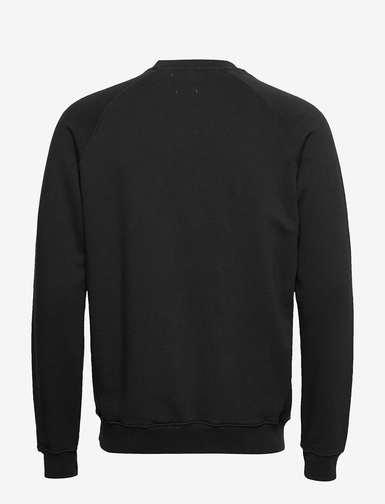 Forét - KNOT SWEATSHIRT - BLACK - basic-sweatshirts - black - 1