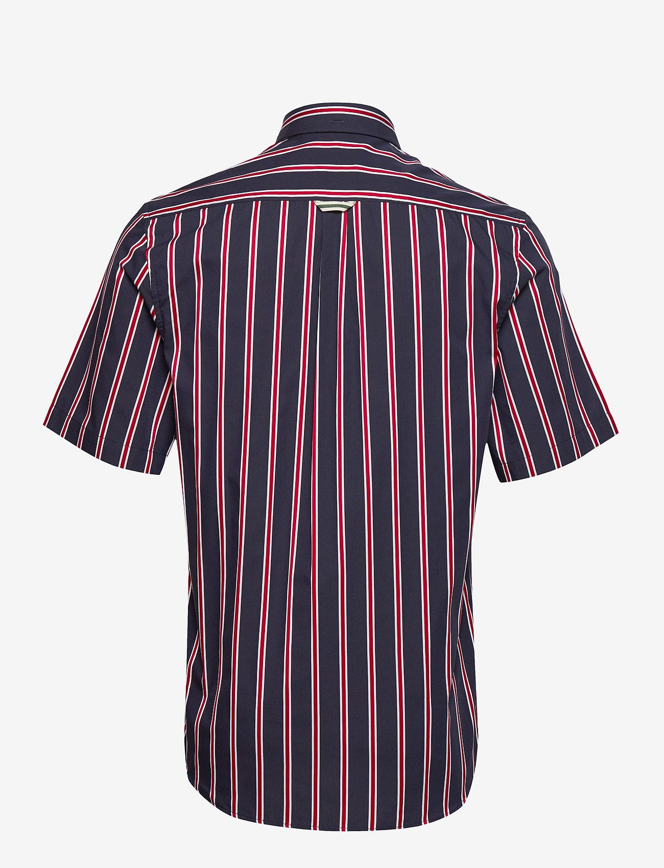 Forét MESA SHIRT - MIDNIGHT BLUE/RED - Skjorter MIDNIGHT BLUE/RED - Menn Klær