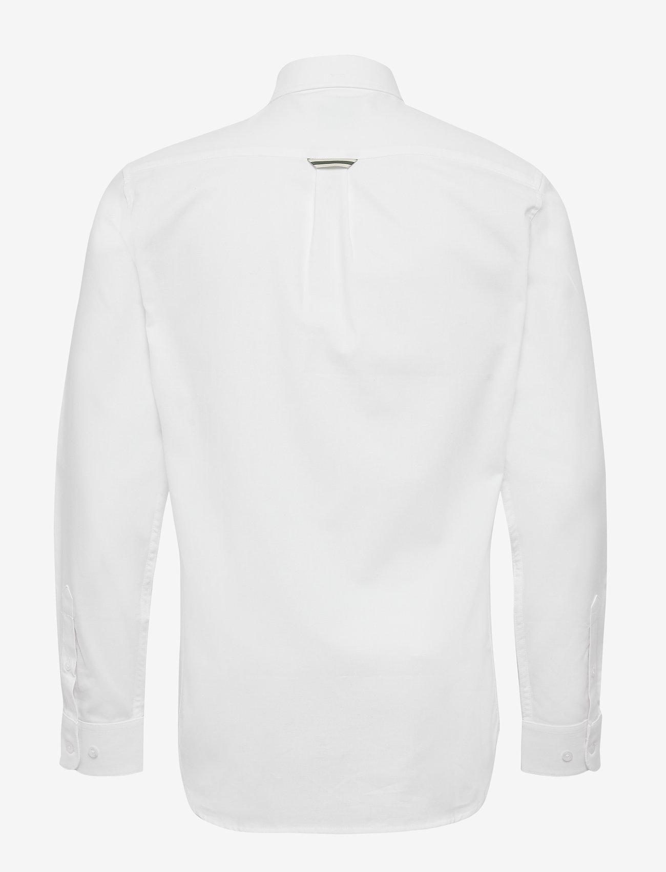 Forét FALCON SHIRT - Skjorter WHITE - Menn Klær