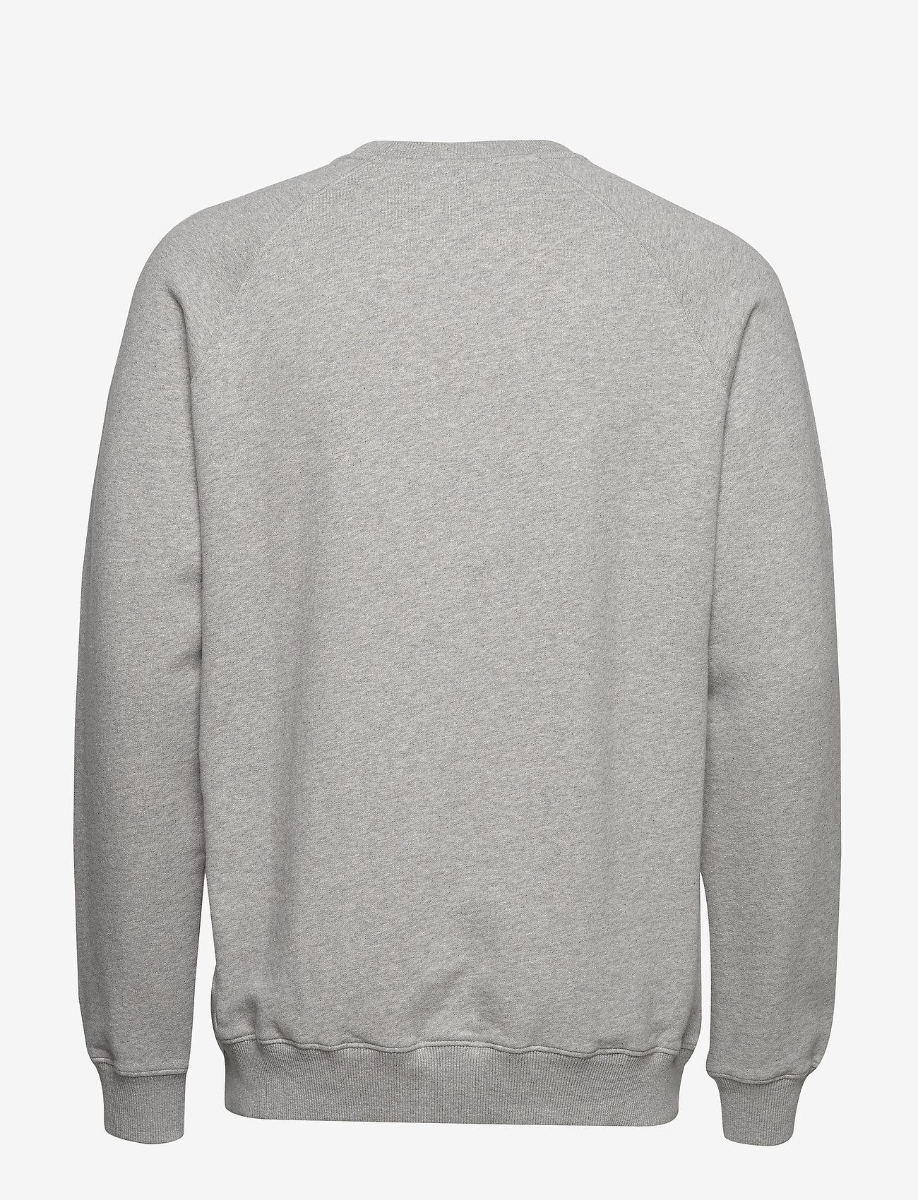 Forét - OX SWEATSHIRT - basic-sweatshirts - light grey melange - 1