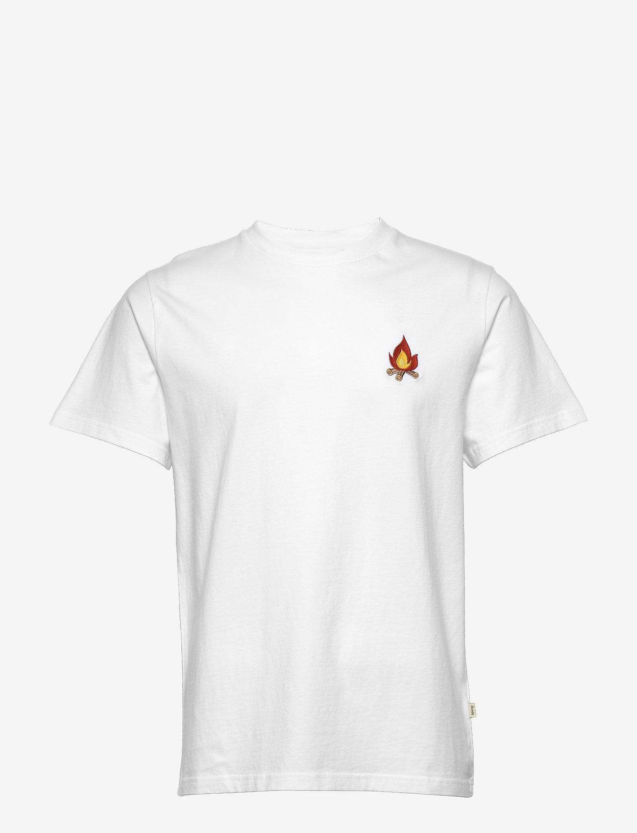 Forét - GLOW T-SHIRT - basic t-shirts - white - 0