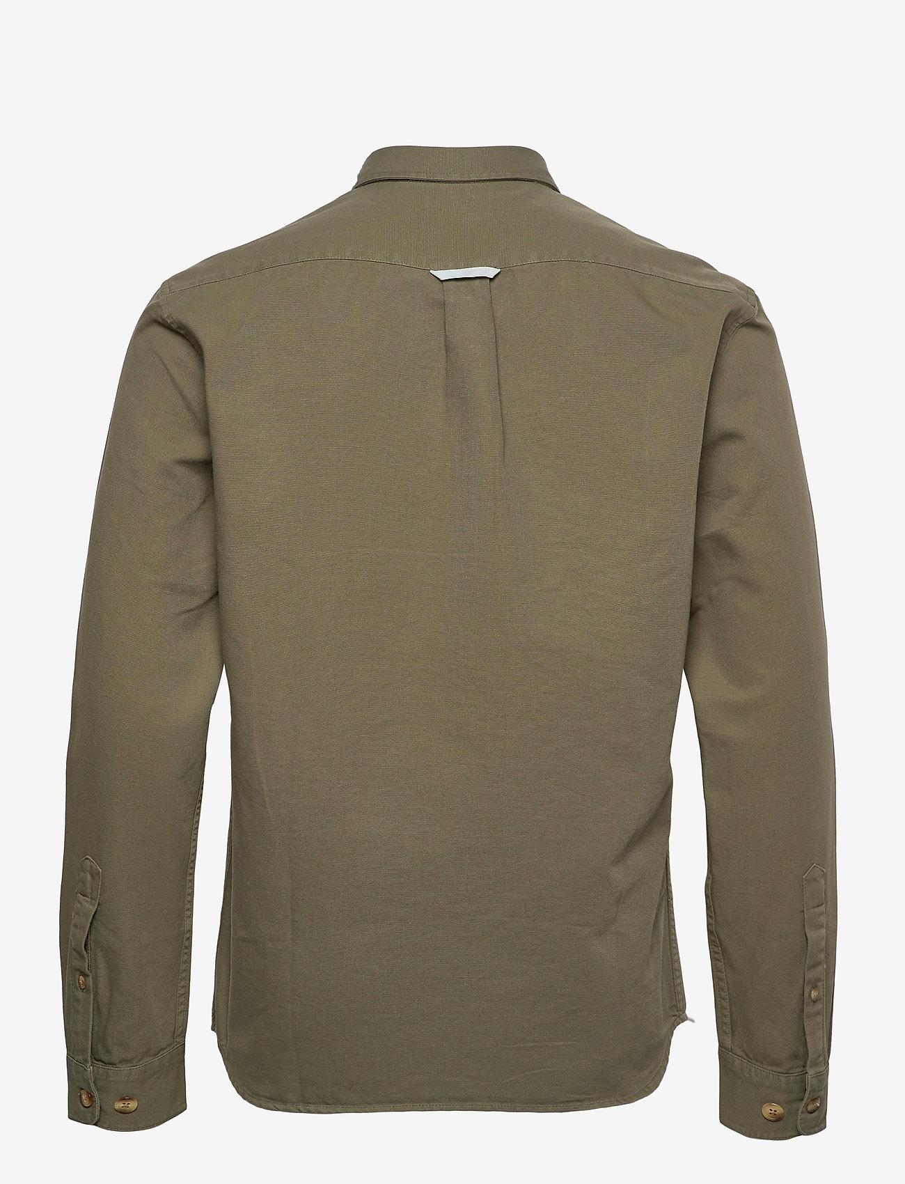 Forét - GONE SHIRT CAMO - odzież - slate - 2