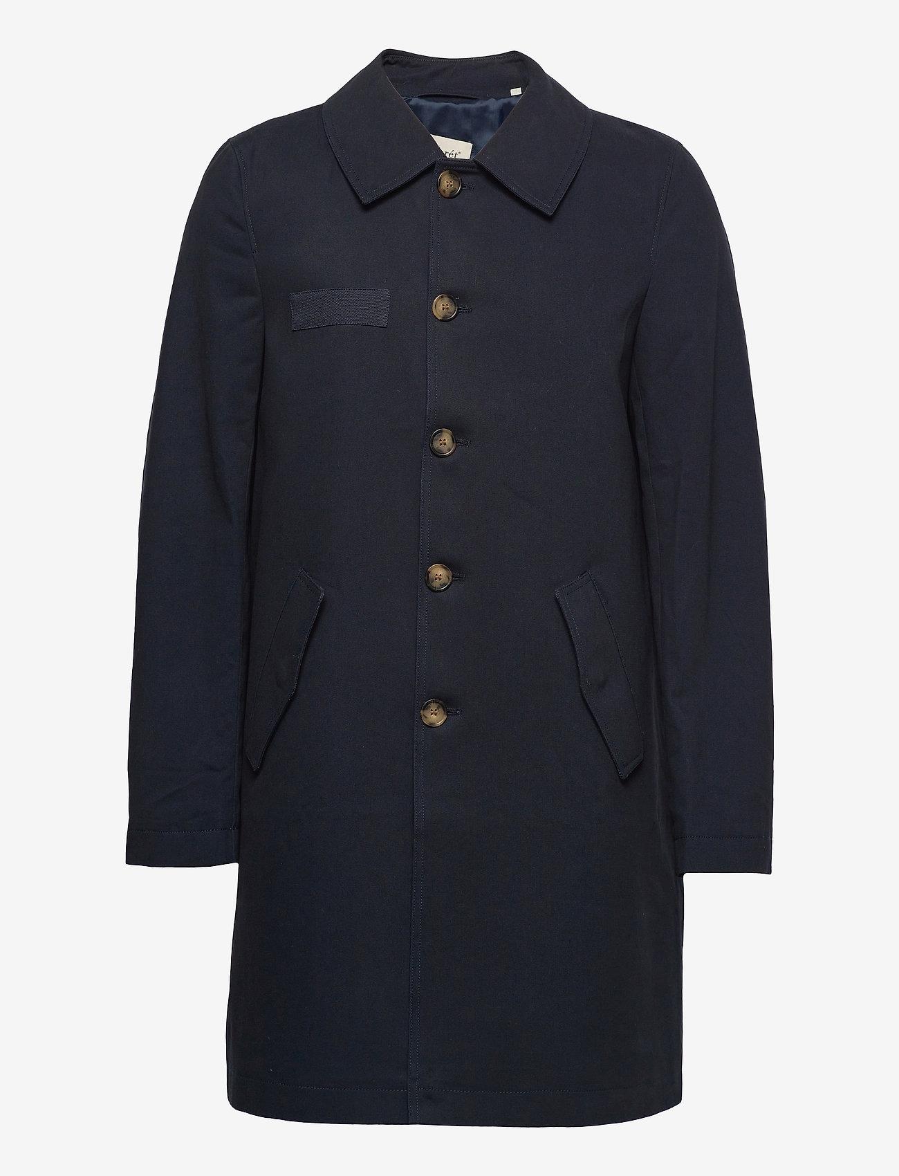 Forét - SHELTER COAT - manteaux legères - navy - 0