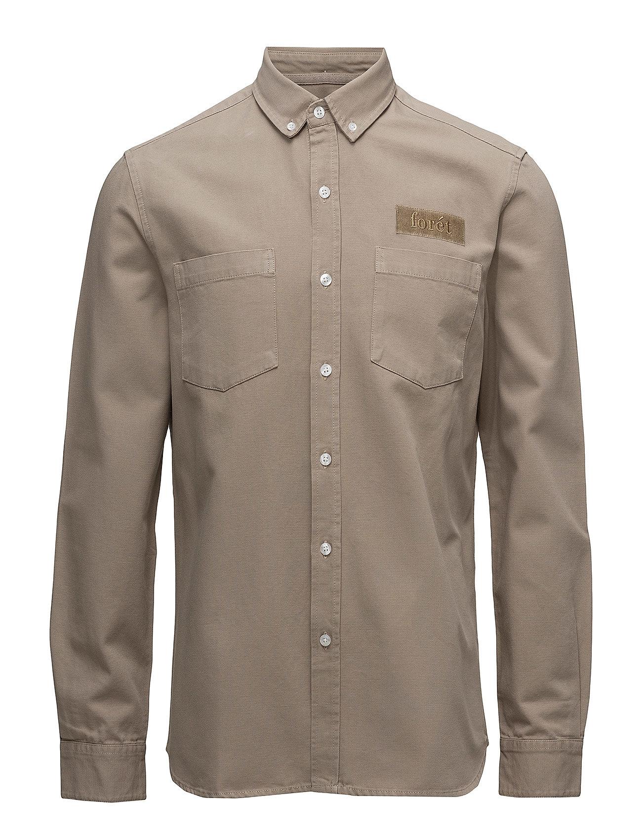 Image of Bear Shirt Overshirt Beige Forét (3189523501)