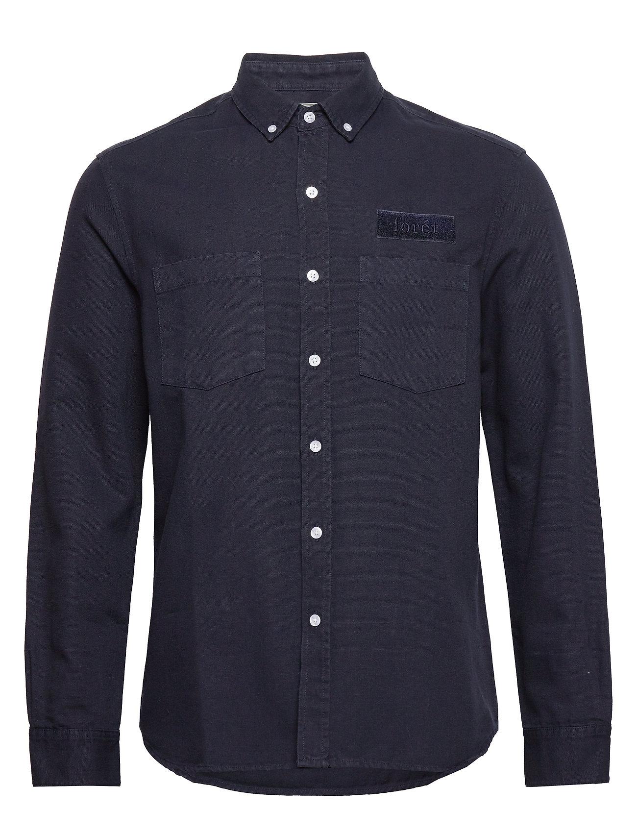 Image of Bear Shirt Overshirt Blå Forét (3336495253)