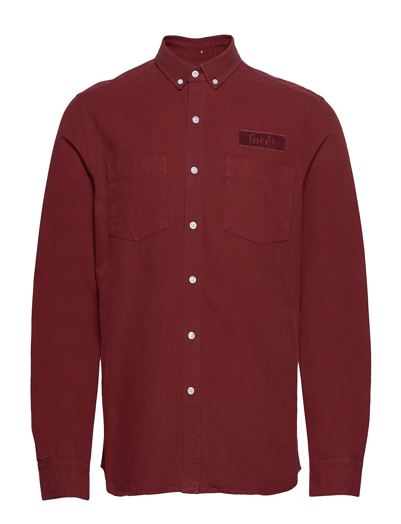 Image of Bear Shirt Overshirt Rød Forét (3406229231)