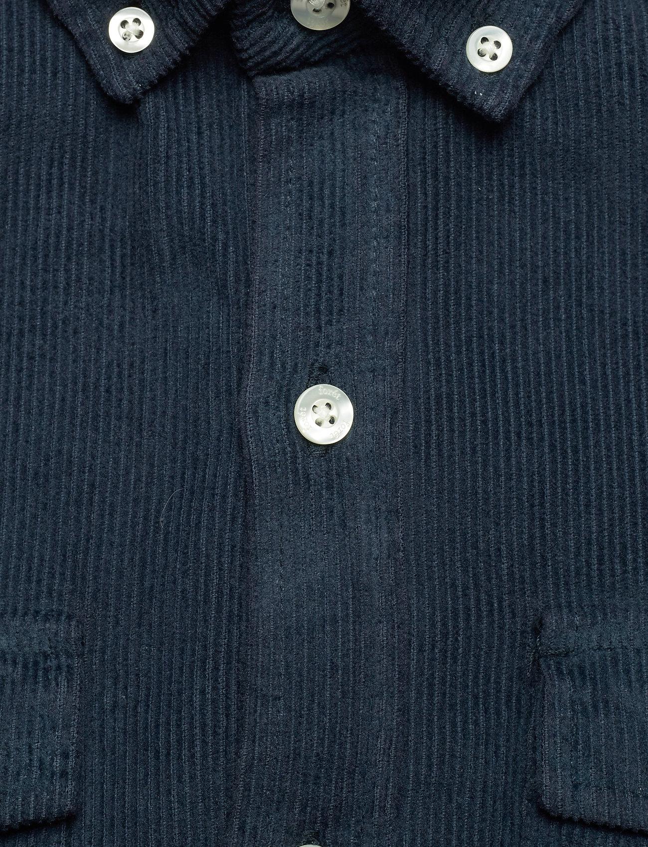 Forét FROG SHIRT - Skjorter NAVY - Menn Klær