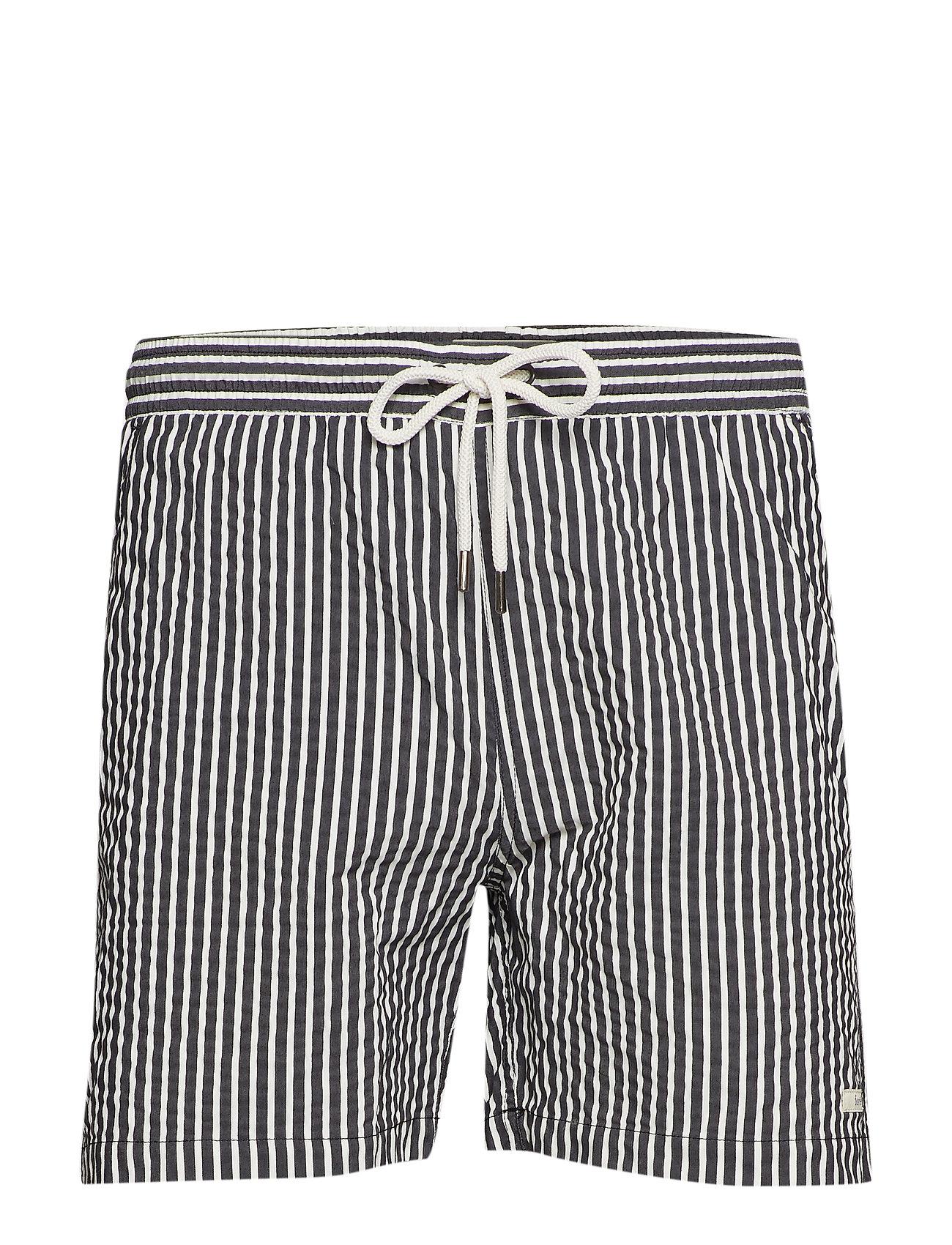 e3719f1904 Ocean Swim Shorts - Black/white (Black/white Striped) (£56) - Forét ...