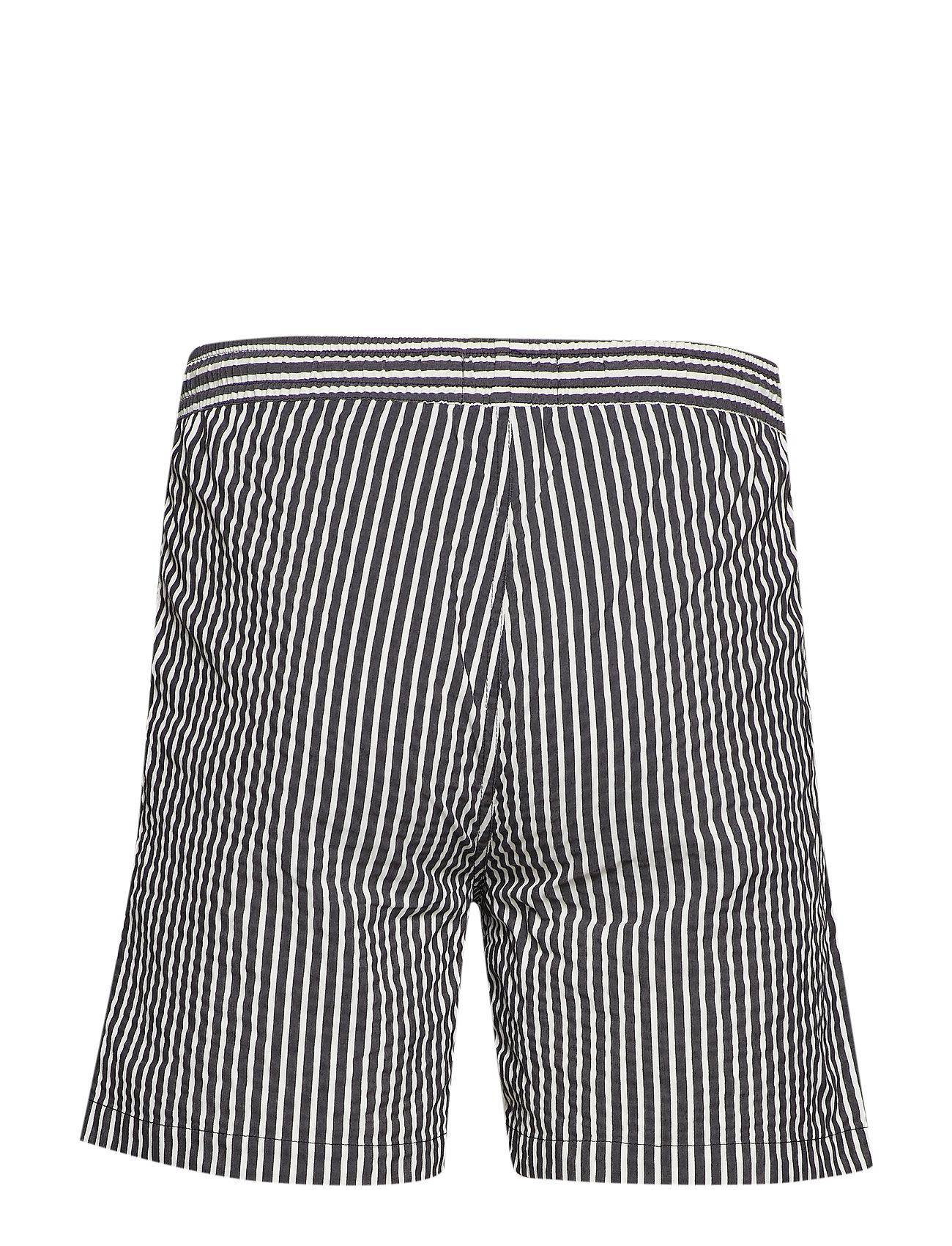 Ocean Swim StripedForét ShortsBlack whiteblack white dChQrxst