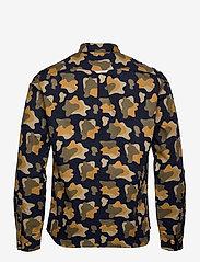 Forét - GONE SHIRT CAMO - chemises de lin - slate - 2