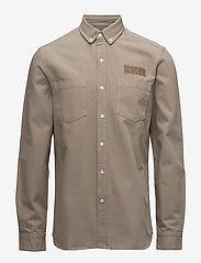 Forét - BEAR SHIRT - overshirts - khaki - 0