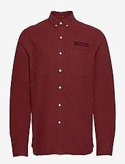 Forét - BEAR SHIRT - overshirts - wine - 0