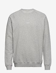 Forét - OX SWEATSHIRT - basic-sweatshirts - light grey melange - 0