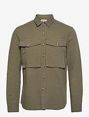Forét - GONE SHIRT CAMO - odzież - slate - 1