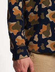 Forét - GONE SHIRT CAMO - chemises de lin - slate - 0
