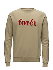 SPRUCE SWEATSHIRT - KHAKI/RED