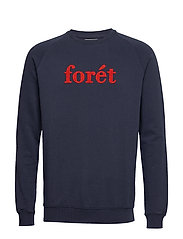 SPRUCE SWEATSHIRT - MIDNIGHT BLUE/RED