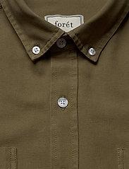 Forét - BEAR SHIRT - overshirts - olive - 3