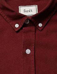 Forét - BEAR SHIRT - overshirts - wine - 3