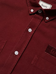 Forét - BEAR SHIRT - overshirts - wine - 2