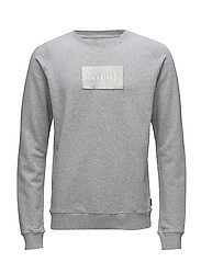FLOAT SWEATSHIRT - LIGHT GREY MELANGE