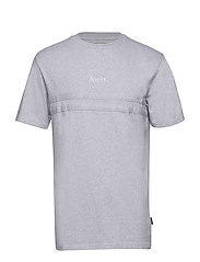 SOIL T-SHIRT - LIGHT GREY MELANGE