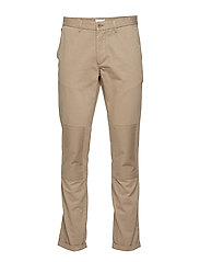BROOK CHINOS - KHAKI