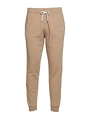CATTLE SWEATPANTS - BEIGE MELANGE - BEIGE MELANGE
